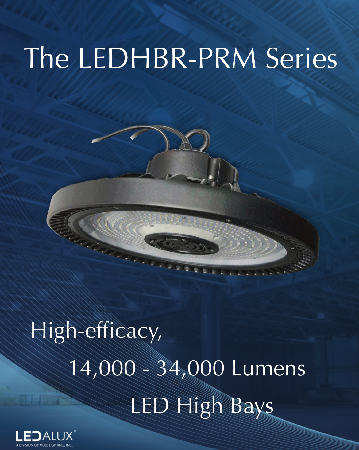 LEDalux LEDHBR-PRM Series Sell Sheet Literature