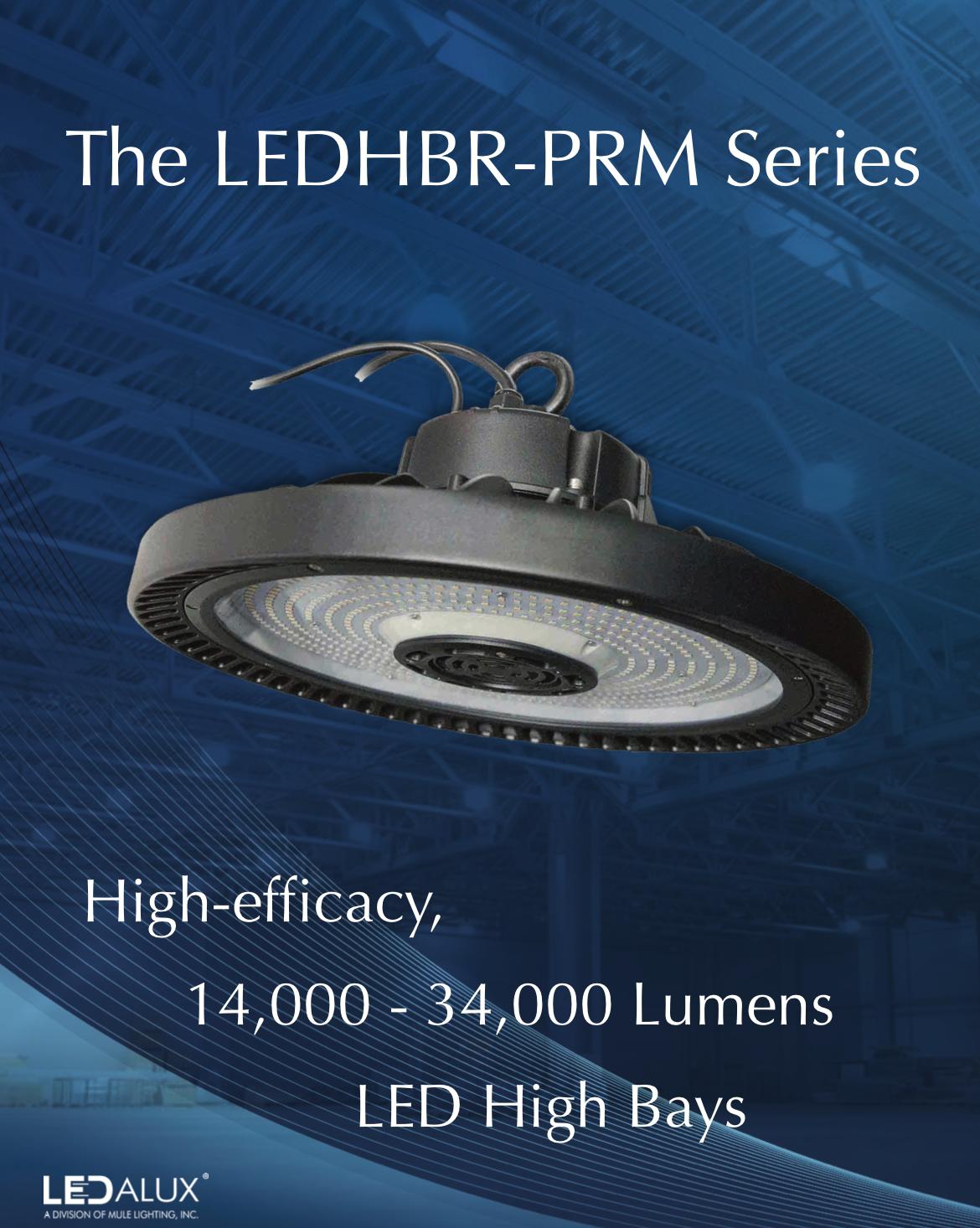 LEDalux LEDHBR-PRM Series Sell Sheet Literature