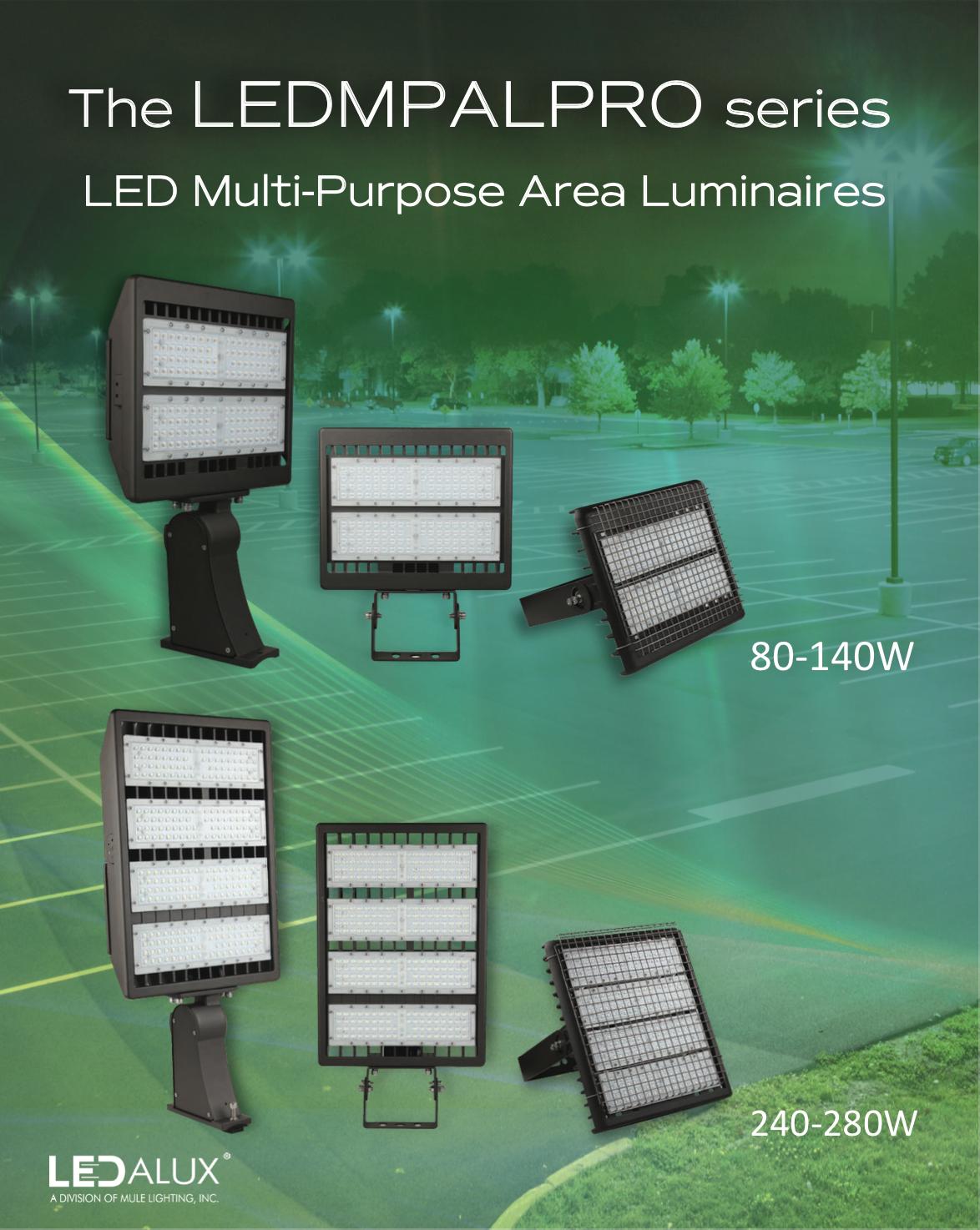 LEDalux LEDMPAL Series Sell Sheet Literature