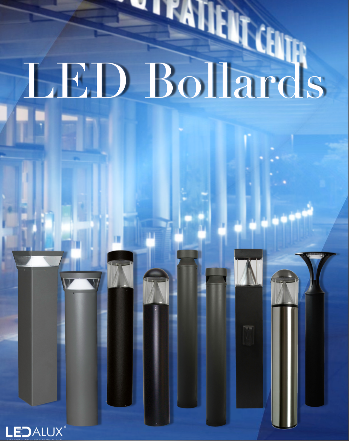 LEDalux LED Bollards Literature