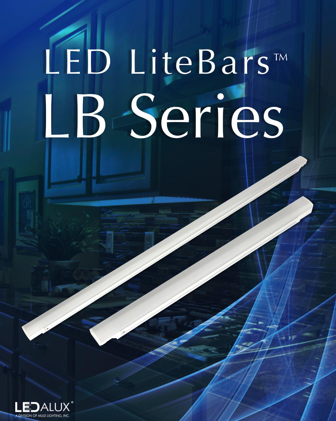 LEDalux LED LiteBars LB Series Literature
