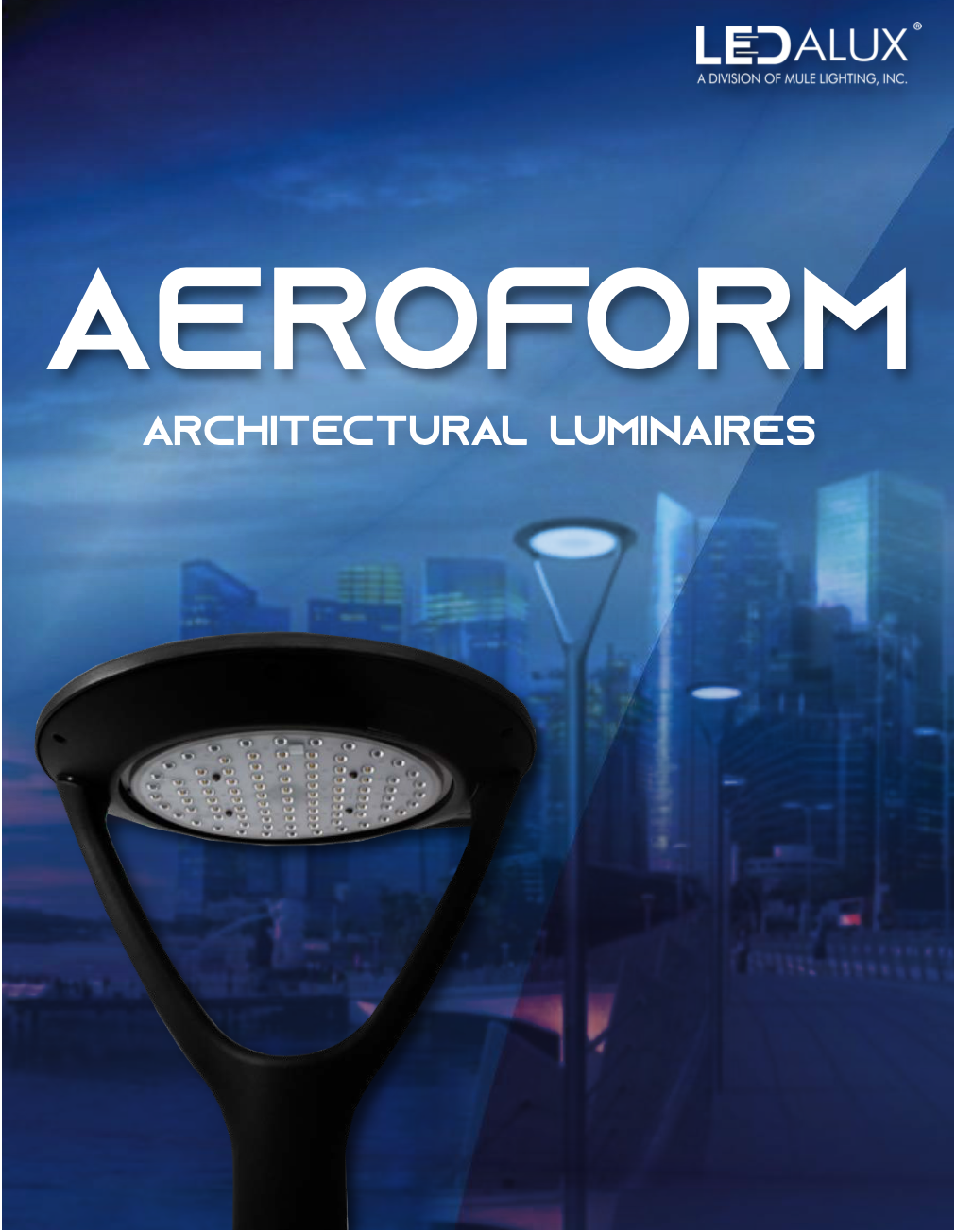 LEDalux AEROFORM – Architectural Luminaries Literature