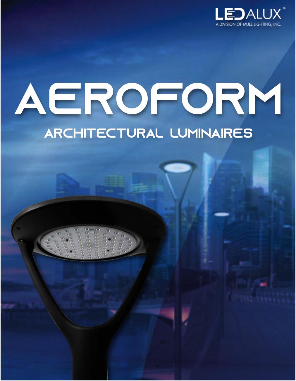 LEDalux AEROFORM – Architectural Luminaries Literature