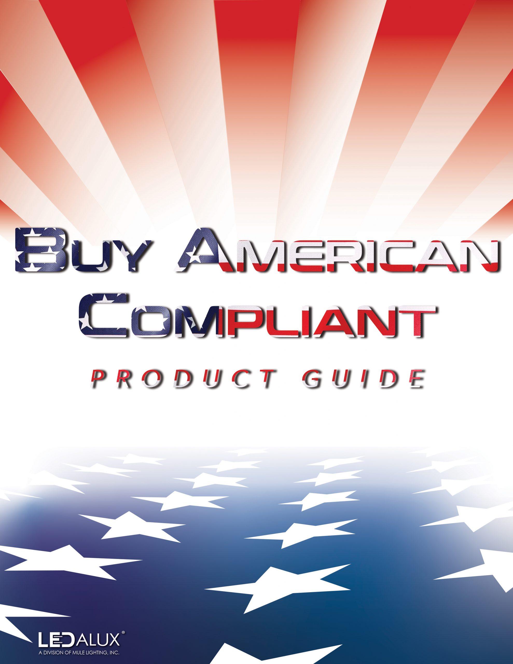 LEDalux Buy American Compliant Guide Literature
