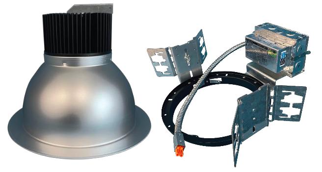 LEDalux - 8″ Architectural Frame and Trim Set